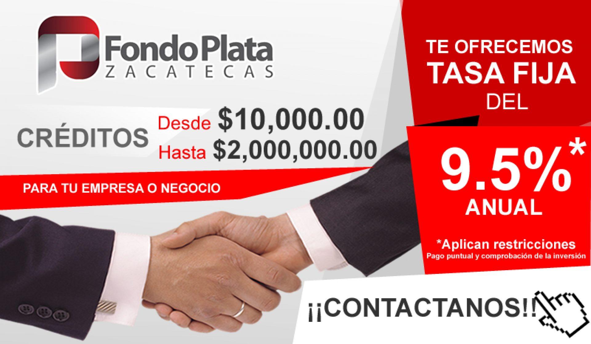 Fondo Plata Zacatecas